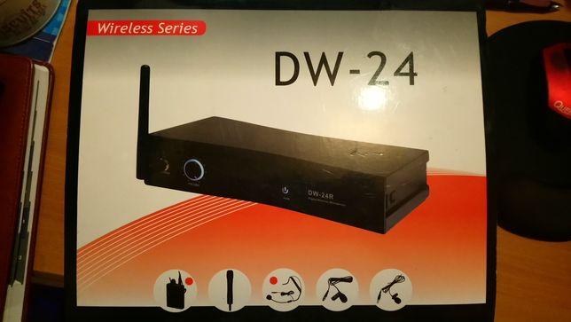 Mikrofon bezprzewodowy nagłowny DW-24