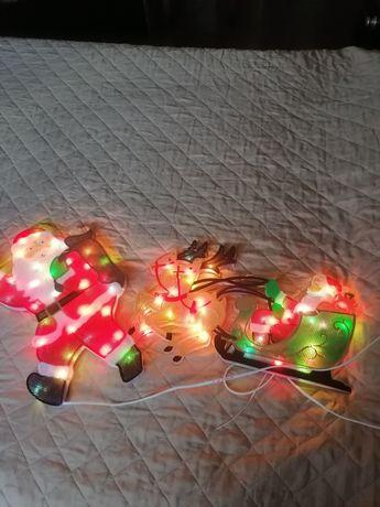 Enfeites luminosos de Natal