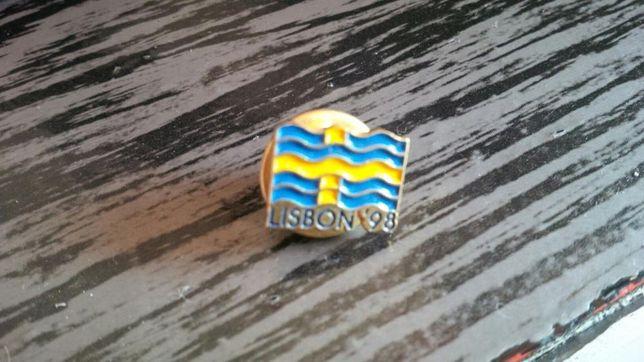 Pin Suécia Expo 98