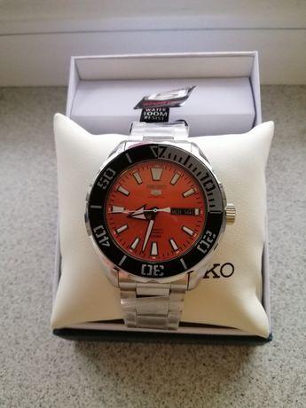 Часы SEIKO 5 Sports Automatic Orange SRPC 55