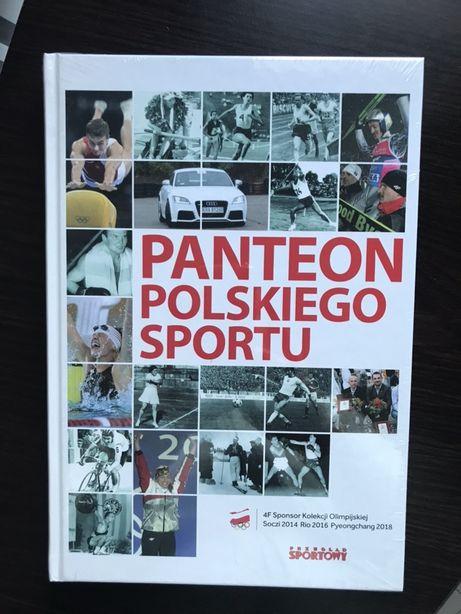 NOWA książka album Panteon Polskiego Sportu