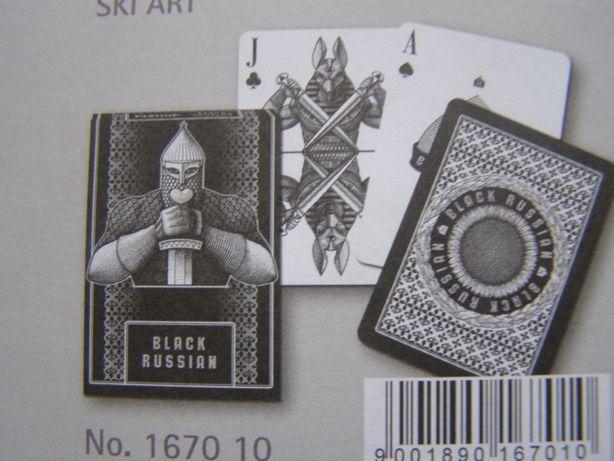 карты игральные Black Russian