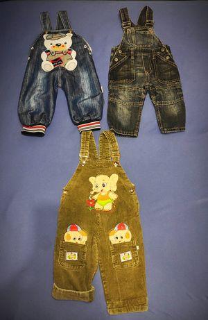 Полукомбинезон комбинезон штанишки штаны джинсы 4-12м.