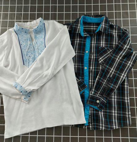 Вишиванка і рубашка в школу на зріст 140см