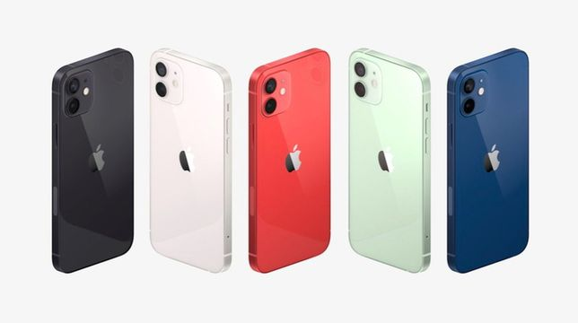 Новий iPhone 12 Mini 64-128-256Gb Green-Black-Red-Blue-White Кредит-0%