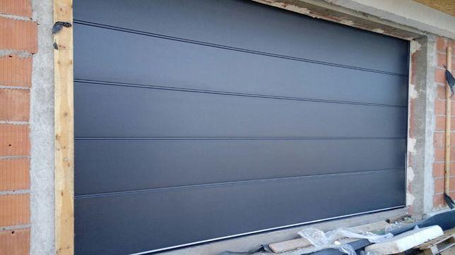 Producent bram garażowych segmentowych - montaż, serwis, automat.