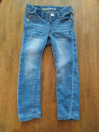 Spodnie jeansowe r. 98 rurki
