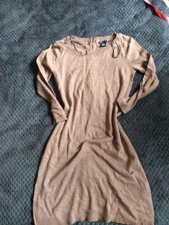 Tunika sukienka sweterkowa