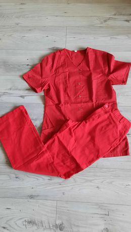 Odzież medyczna spodnie bluzka 38