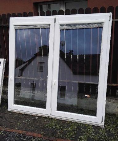 Okno okna plastikowe PCV 180x273cm + żaluzje