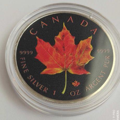 5 долларов Канада 2019 г. 1унция серебра 999 пробы.Тираж 100 экз.