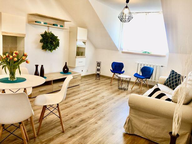 Mieszkanie 52m kw po GENERALNYM REMONCIE 5min od PKP, 2 pokoje