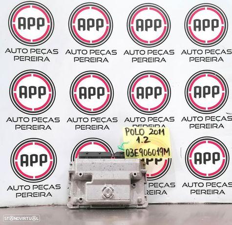 Centralina Polo 6R, Ibiza 6J 2011, 1.2 12V referência 03E906019M