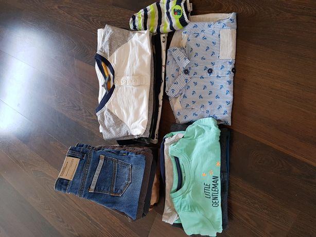 Paka zestaw ubrań dla chłopca r 74 zara h&m next