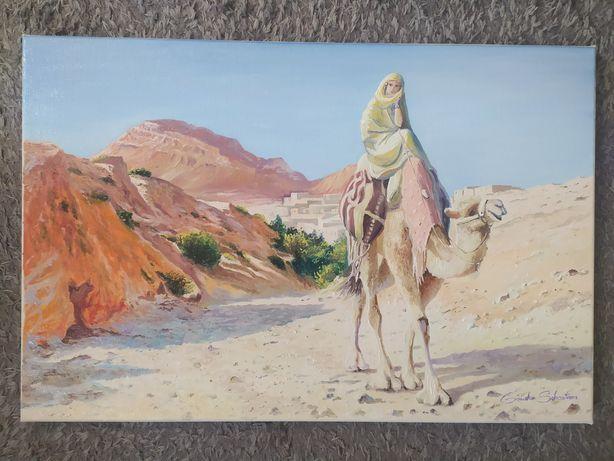 """Obraz olejny """"Kobieta pustyni"""""""