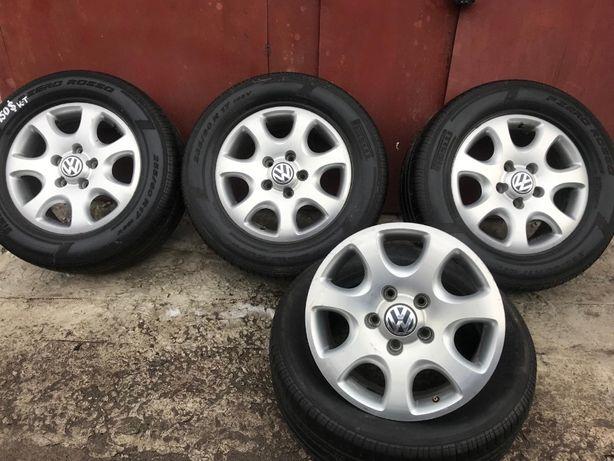 Диски Фольцванен и шины Pirelli на Volkswagen Touareg 5х130 шини 17'