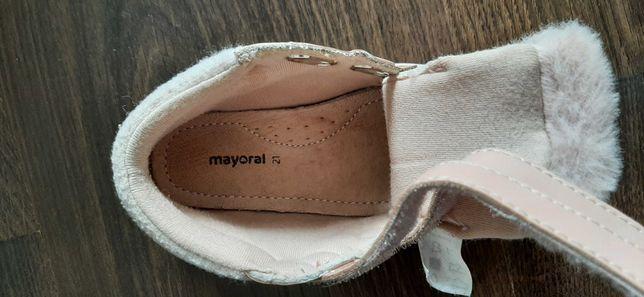Деми ботиночки Mayoral на девочку