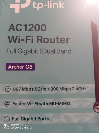 Router TP-Link TP-Link Router AC1200