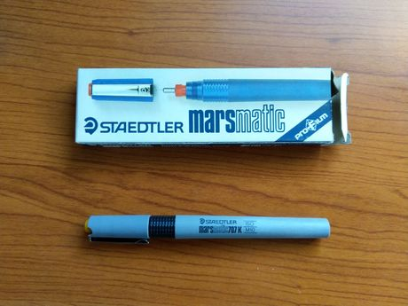 Rapidograf pisak techniczny (kreślarski) Staedtler Marsmatic - vintage