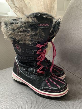 Новые зимние сапоги сапожки ботинки на девочку