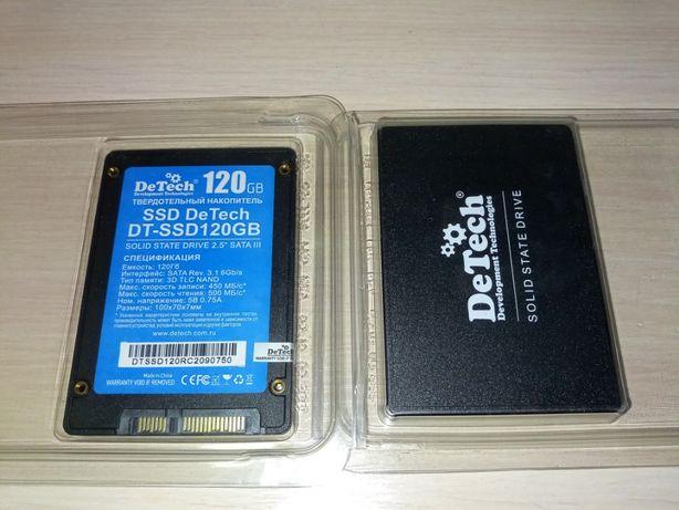 SSD 120GB DeTech. Гарантия 6 мес.