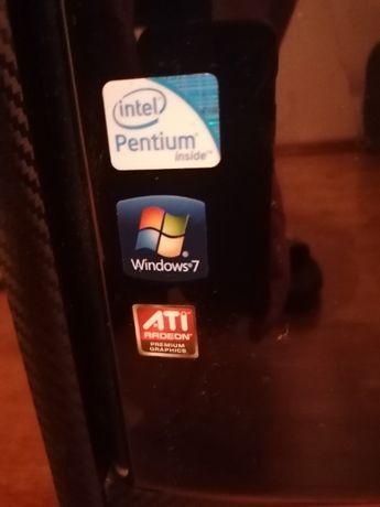 komputer plus ekran lg klawiatura głośniki i myszka