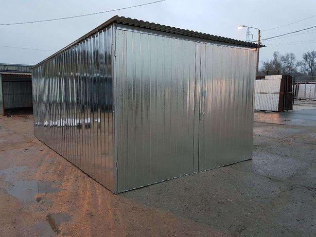 Garaż 3x5 konstrukcja ocynkowana wzmocniona Promocja Dostawa Gratis