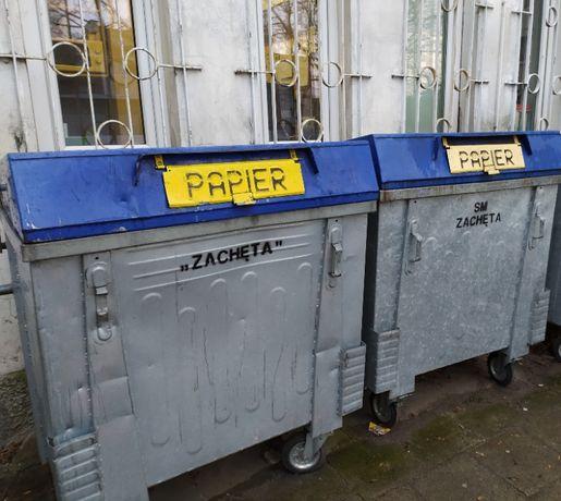 Kontener na odpady,gruz