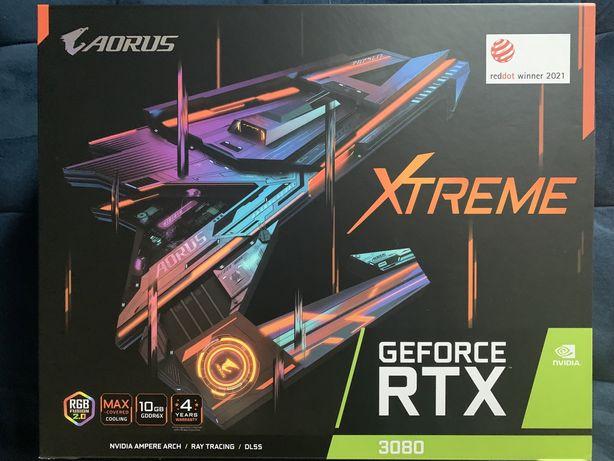 Geforce Aorus RTX 3080 Extreme 10G bez LHR FV 23%