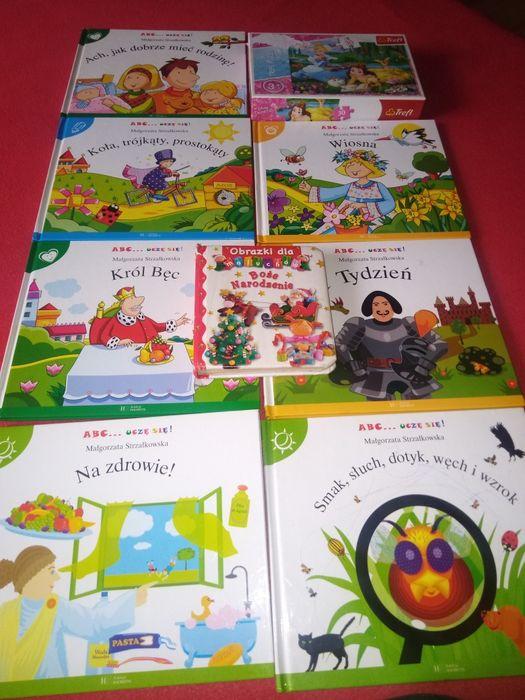 Książeczki córka chce sprzedać i 1 puzzle sprzedam Pruszcz Gdański - image 1