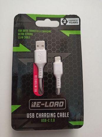 Przewód Kabel USB - USB C 1.5m