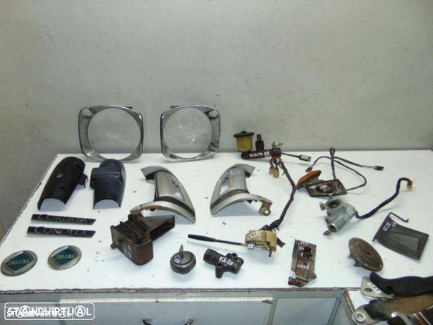 Toyota KE20 cintos de segurança