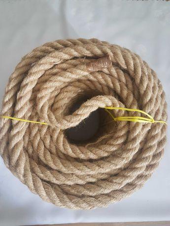 Lina juta powróz sznurek juta naturalna 20 mb fi 24