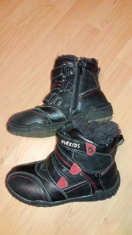 Kozaki buty zimowe chłopięce roz 34 kozaczki