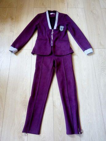 Модный костюм, на девочку 10-11 лет.