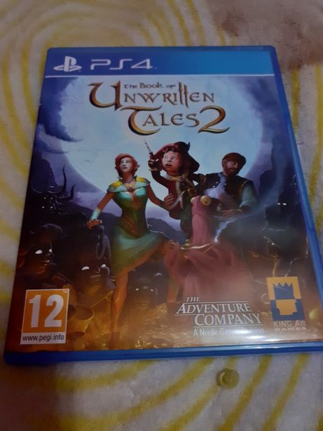 Gra na PS4 The Book of Unwritten Tales2. Stan idealny