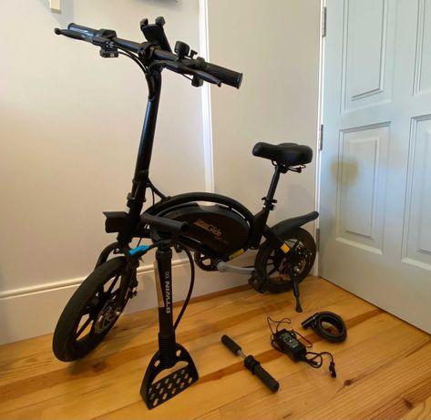 Bicicleta Eletrica Urban Glide 140 Pouco Usada