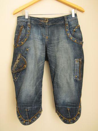 Бриджи Christian Dior р.28, джинсовые бриджи