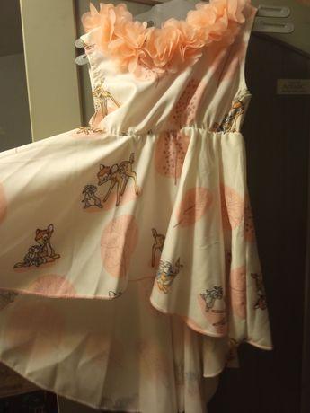 Nowa asymetryczna sukienka