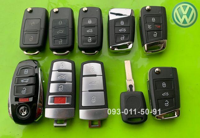 VOLKSWAGEN ключи Passat CC Phaeton Touareg Touran Jetta T4 T5 в сборе