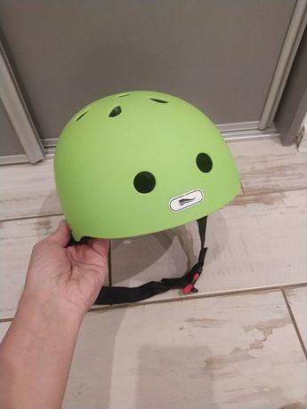 Kask dziecięcy regulowany 52-57 rower hulajnoga