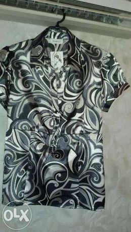 Блузка блуза рубашка р 42 (48) женская кофта кофточка новая Турция