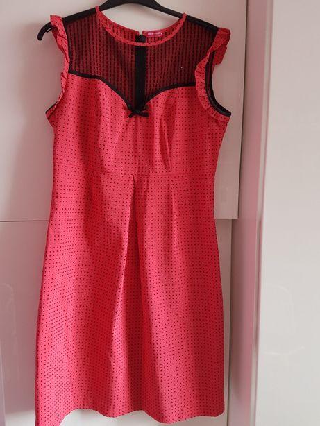 Śliczna sukienka ciążowa happy mum r.M