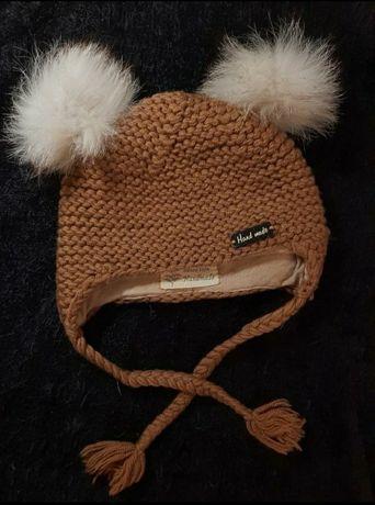 Детская шапочка. Детская вязаная шапка