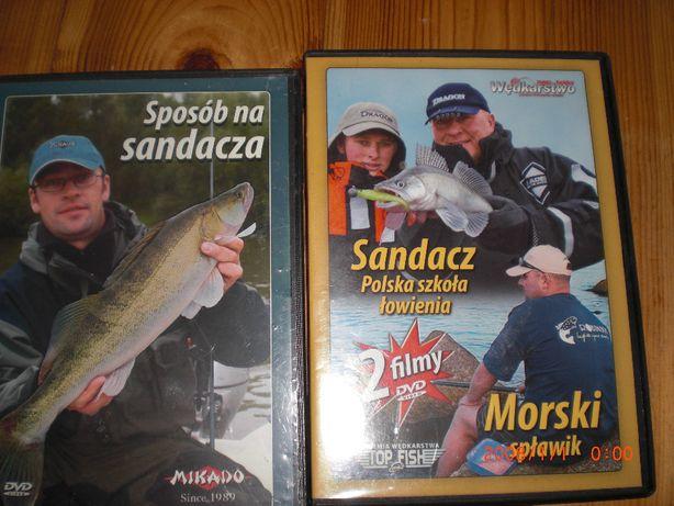 wędkarstwo płyty DVD 12 SZT