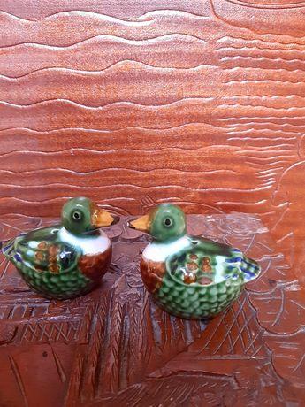 Saleiro/Pimenteiro em forma de patos