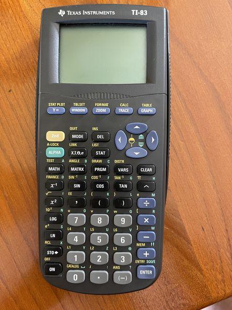 Vende-se calculadora grafica TI-83