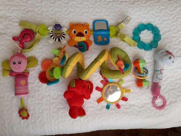 Zabawki dla niemowlat, grzechotki, zawieszki, pałąk Bright Starts