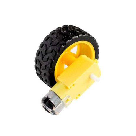 roda com motor / L298N driver motor