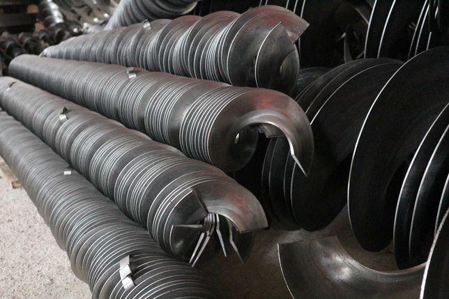 Шнековая спираль цельнотянутая, сегменты шнека
